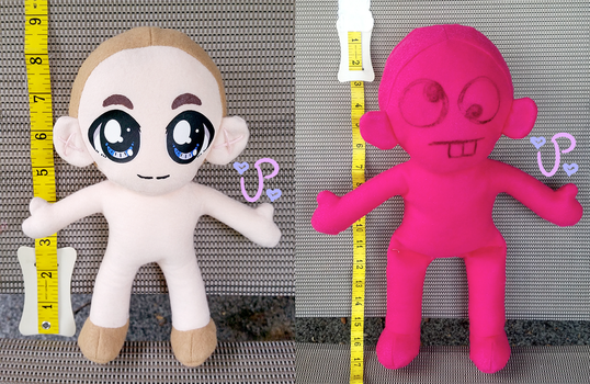 NEW 8 INCH AND 16 INCH PLUSHIES by UltraPancake