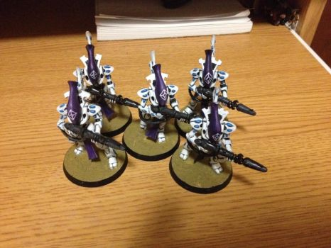 First 5 Wraithguard by GlassRabbit