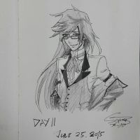 Day 11 challenge: Grell Sutcliff by super5003