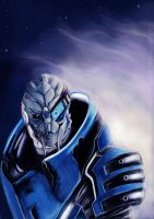 "Garrus ""Archangel"" Vakarian by Smilika"