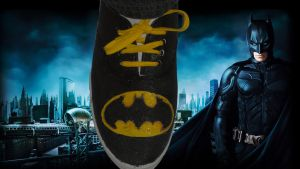 For Sale - Batman: Custom Logo Shoes by Rudolftheclown