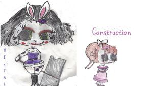 K.bunnies 79 and 80: Mental and Construction by AkaiChounokoe