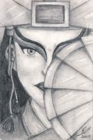 Avatar Kyoshi by whitegoldlust