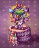 MLP Drawing - Twilight Sparkle's Music Box by Royal-Serpent