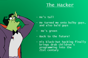 CharacterSpotlight: The Hacker by Cristin