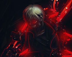 Kaneki Th V2 by NerfPixels