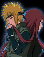 Minato and Kushina by GoLD-MK