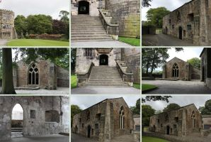 Skipton Castle 3 by Tasastock