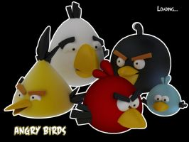 the angry birds by 16eN