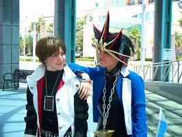 Kaiba and Yugi Love Each Other by stinkulousreddous