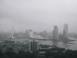 Rotterdam Cityscape by demonlight