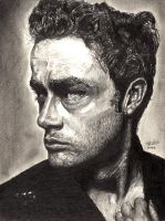 James Dean by Anthony-Woods