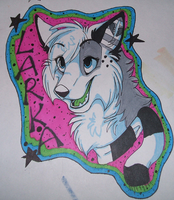 Larka badge by BellaPanther