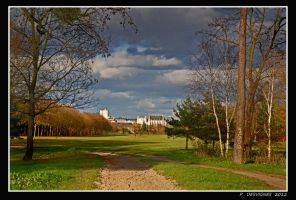 Vincennes castle II by bracketting94