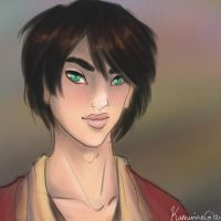 Tsuru portrait -- for Steph by Luminosion