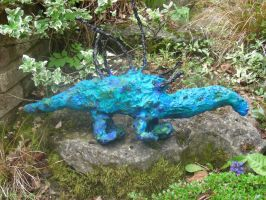 Blue Dragon Sculpture by McNish95