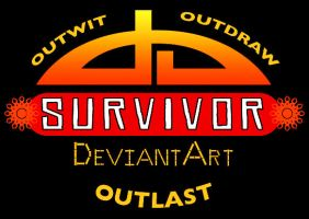 Survivor: deviantArt logo by terriblenerd