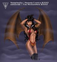 Vampirella - color by Timbone