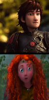 Reaction of Merida by wendymeg