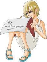namine drawing by omaega