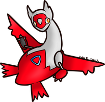 Latias by AbyssinChaos