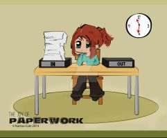 the Joy of Paperwork by ex-astris1701