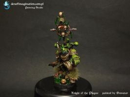 Plague Marine Knight of the Plague by Brovatar