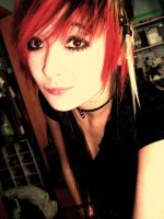 my red hair hehe by xx-kittymeowmeow-xx