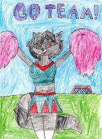 Kathryn the Cheerleader Cooper by trexking45