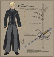 HP Fan Character: Ethan Evans by ladyofdragons