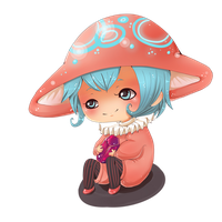 little_cute_mushroom by TrololhAnime