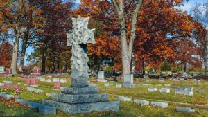 Fall Cemetery I by redwolf518