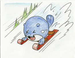 Pokemas: Sledding by Zerochan923600