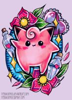 Clefairy by RetkiKosmos