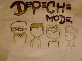 DEPECHE MODE by gAvrieLa-BremOnt