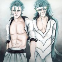 Grimmjow(s) by FadingCrow