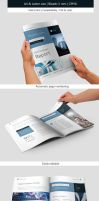 Corporate and Business Brochure IndesignTemplate by renefranceschi