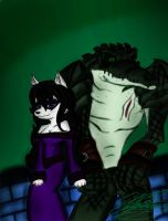 Truce? - Colored by XxMoonlight-1-WishxX