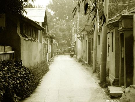 HuTong in Beijing by CryingDoom