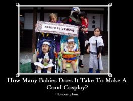 Cosplay Babies by NamineLovedTheDream