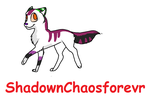 pup for ShadownChaosforevr by HazeAdopts