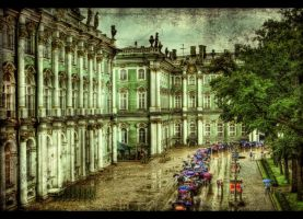 River of Umbrellas HDR by ISIK5