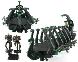 Necron Troop Transport by GeneralCambronne