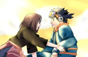 Naruto 687 - Watching over you by klein-k