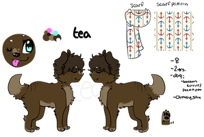Tea Reference Sheet 2012 by techno-tuna