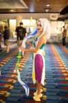 Steven Universe - Opal cosplay at Dragon*Con 2016 by derpmyBASS