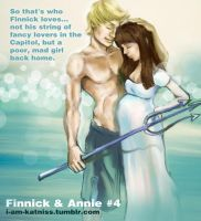 The Hunger Games - Finnick and Annie - no.3 by lizzomarek