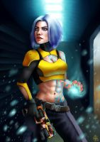 Borderlands 2: Maya by AnnaBelov