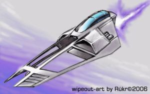 next wipeout craft by alien99