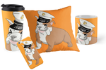 Marine Bulldog Pillow and More by RedMedKit
